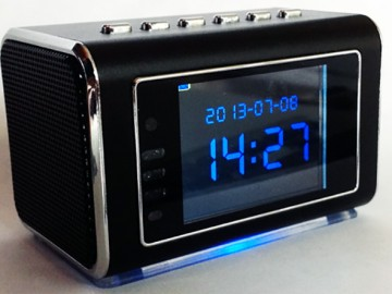 Mini Clock Radio Hidden DVR