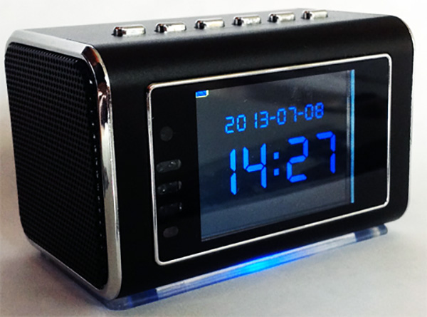 Mini Clock Radio Hidden DVR