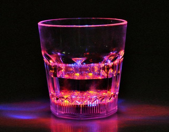 Moisture Activated LED Whiskey