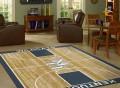 NCAA Court Rug by Milliken
