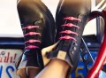 Pink Elastic Lacing System by Hickies