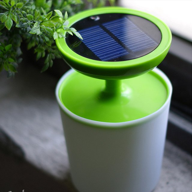 Pot Solar Night Light Plant
