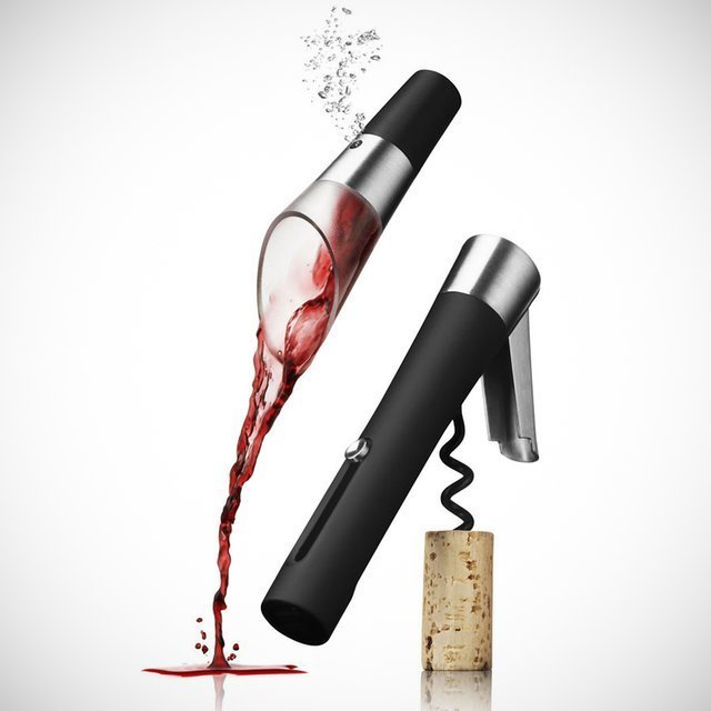 Waiter's Corkscrew & Decanting Pourer