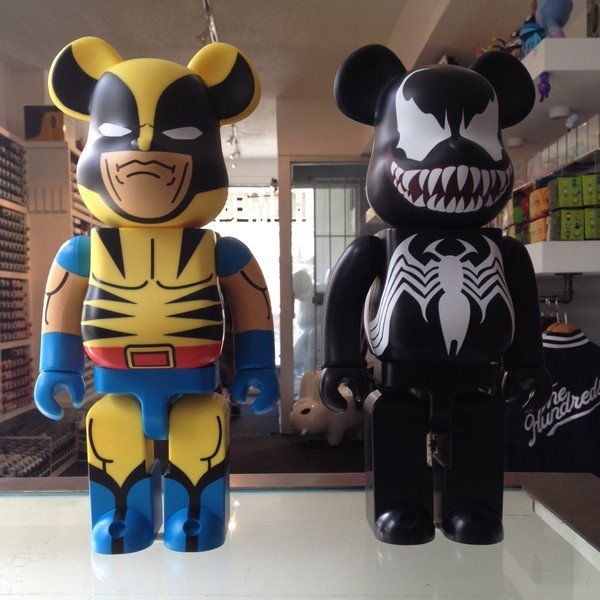 Wolverine & Venom Be@rbricks by Medicom