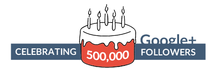 PetaGadget Celebrating 400k followers on Google Plus