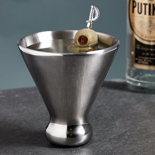 Ice Free Martini Glass