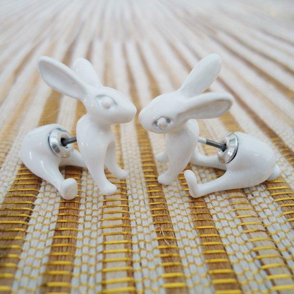 Alice's Rabbit Hole 3D Earrings