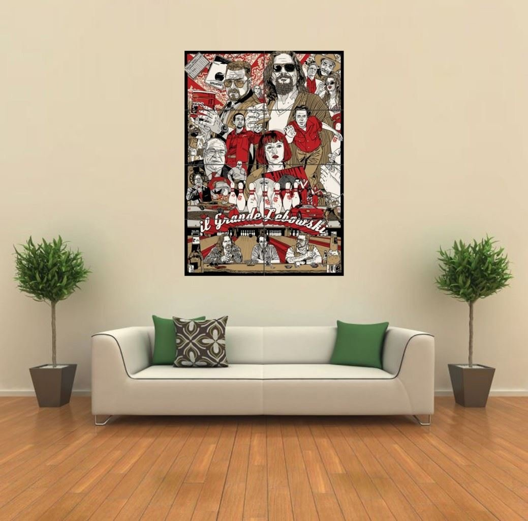 The Big Lebowski Wall Print