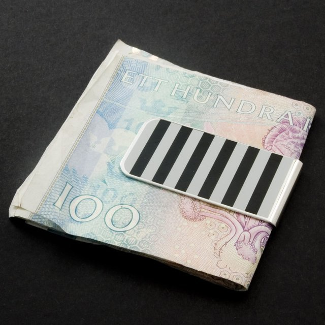 Zebra Money Clip by Ulterior Motive