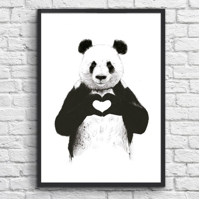 All You Need is Love Print by Balázs Solti