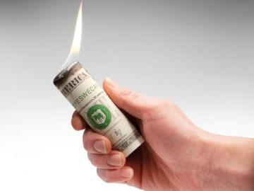 Burn Your Money Firelighters