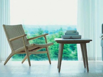 CH25 Easy Chair by Hans Wegner