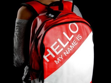 Hello My Name Is Backpack
