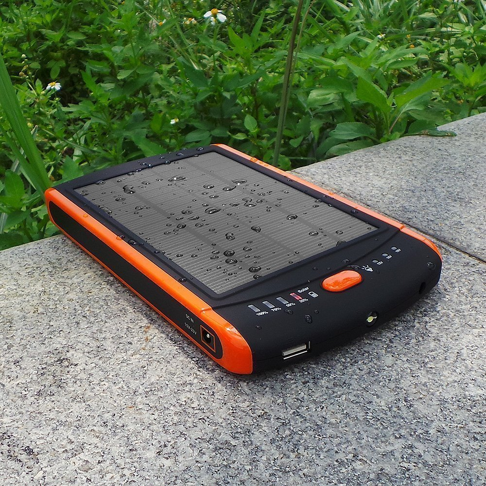 High Capacity Solar Panel Portable Charger