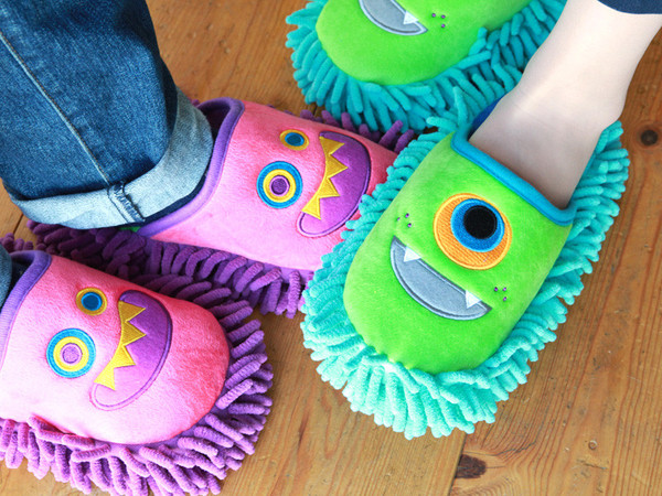 Kawaii Monster Slippers