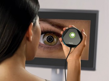 Myris Eye Scanning Password Authenticator