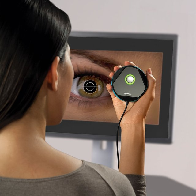 Myris Eye Scanning Password Authenticator