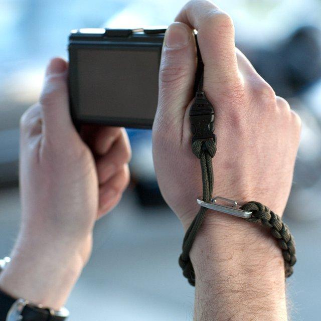 Olive Camera Wrist Strap