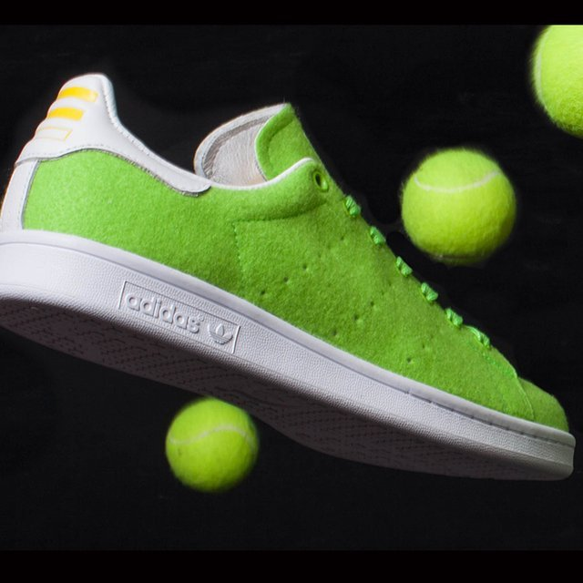 new product 49eb7 6be37 Pharrell Williams X Adidas Stan Smith Tennis Sneakers