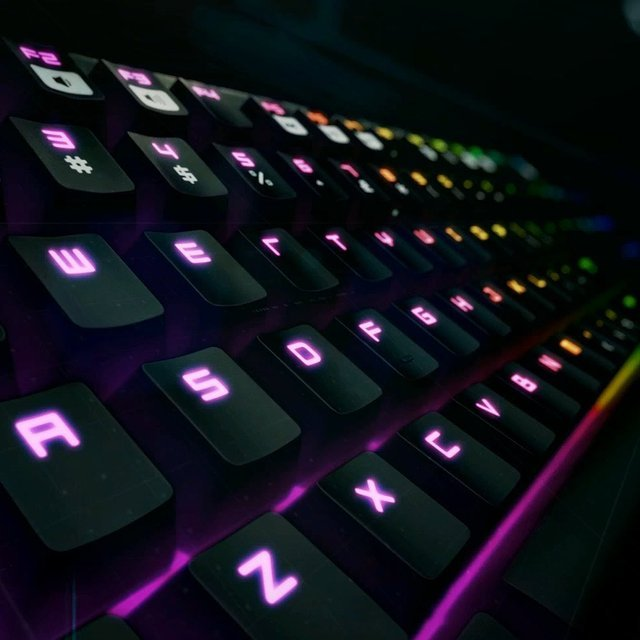 Razer BlackWidow Chroma Keyboard