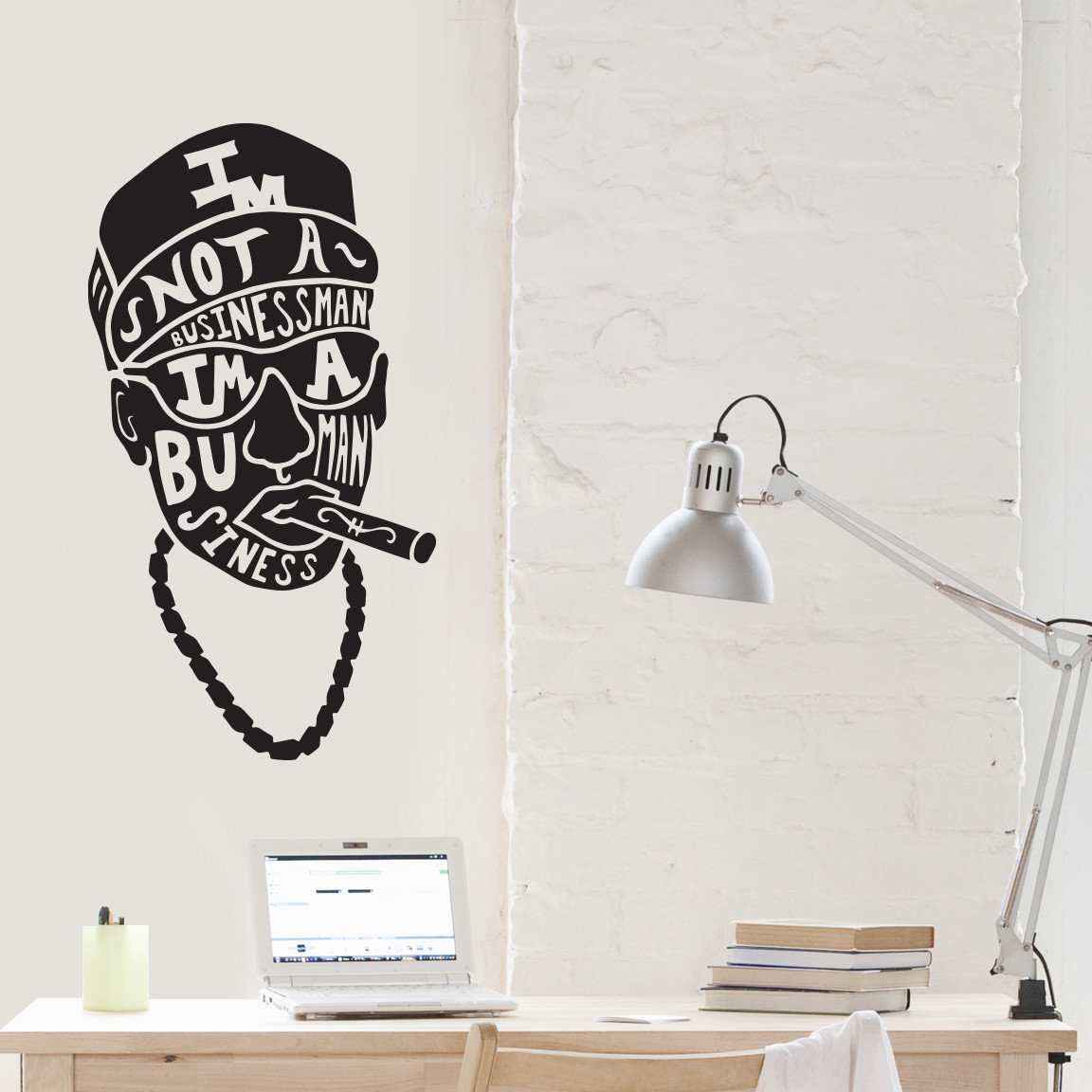 Businessman Wall Decal