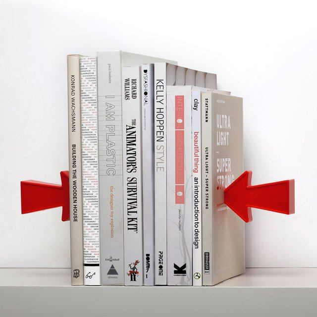 Arrow Magnetic Bookend
