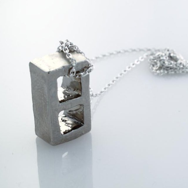 Cinderblock Necklace