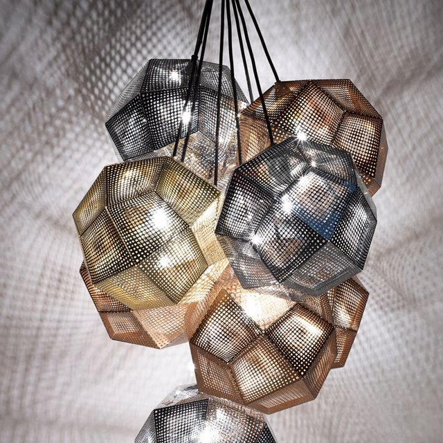 Etch Pendant Light by Tom Dixon