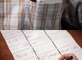 Noteboard Foldable Pocket
