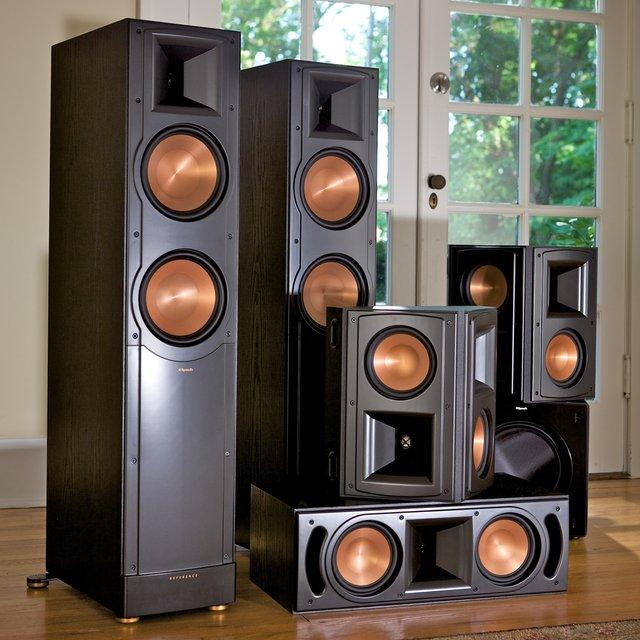klipsch rf 62 ii home theater system petagadget. Black Bedroom Furniture Sets. Home Design Ideas