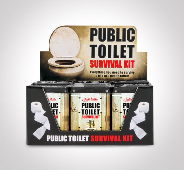 Public Toilet Survival Kit6
