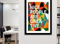 """""""Nice People Are Creative"""" Fine Art Prints by Danny Ivan"""