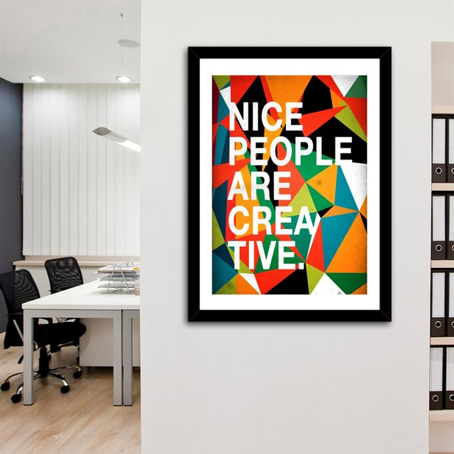 """Nice People Are Creative"" Fine Art Prints by Danny Ivan"