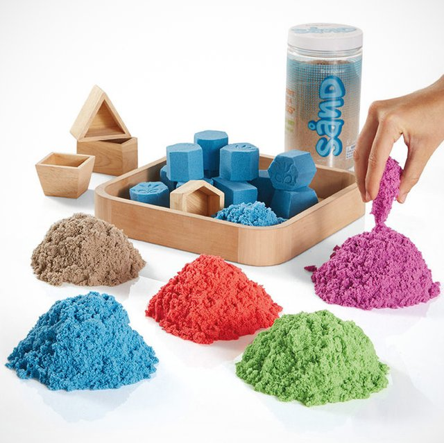 Colored Kinetic Sand