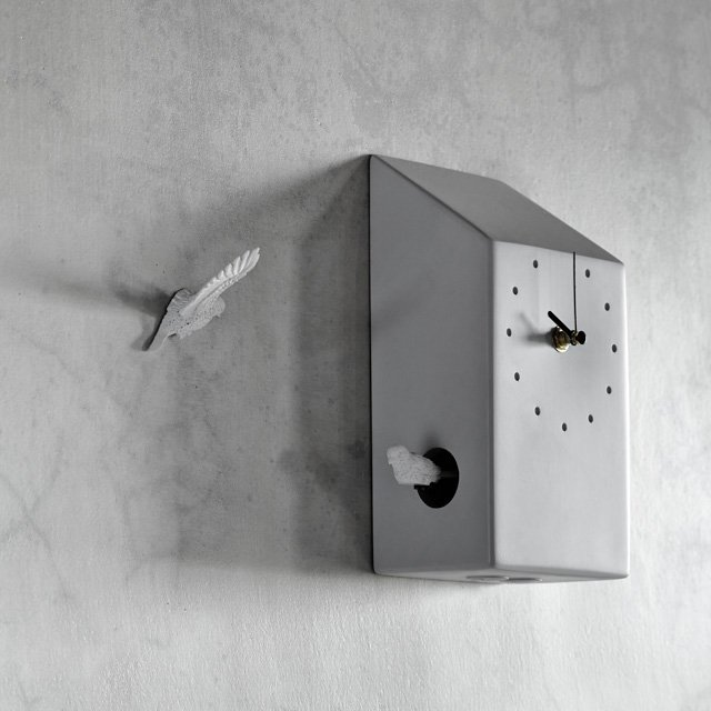 Cuckoo X CLOCK by Haoshi Design
