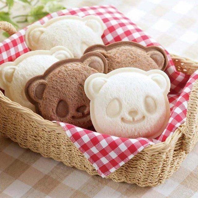 Shoku Panda Sandwich Mold