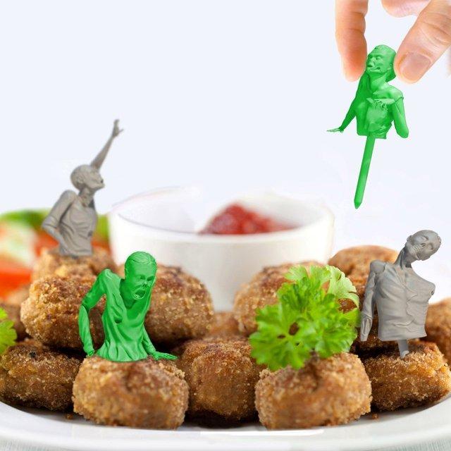 Zombie Apocalypse Cocktail Toothpicks