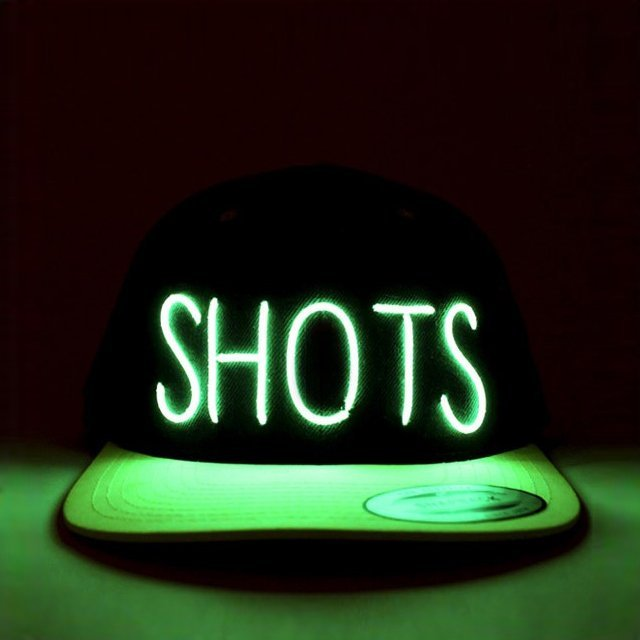 Shots Light Up Snapback