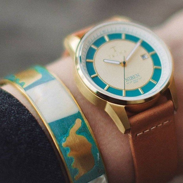 Jade Niben Watch by Triwa