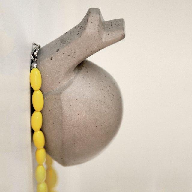 Concrete Snail Wall Hook