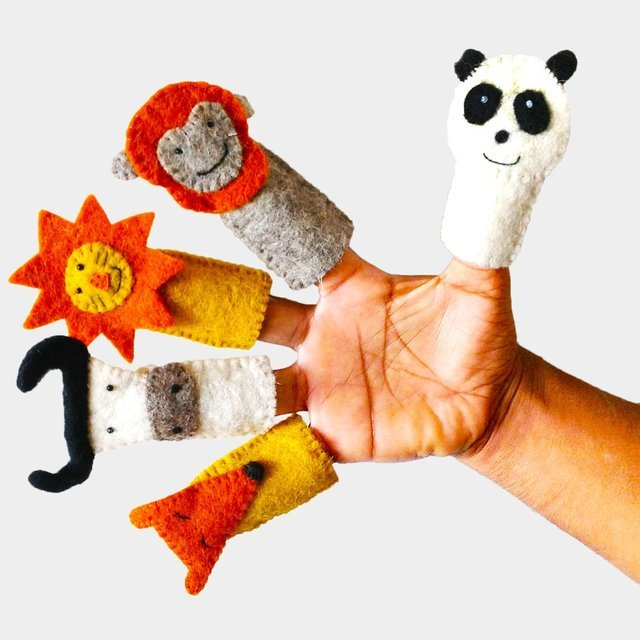 Finger Puppet Set by KHIDKI