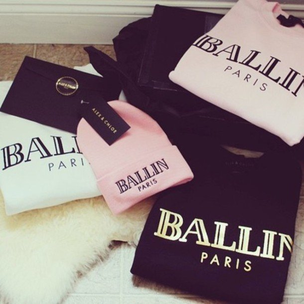 Ballin Paris Beanie Black
