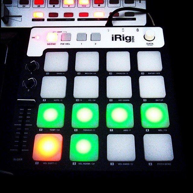 iRig Pads Midi Controller