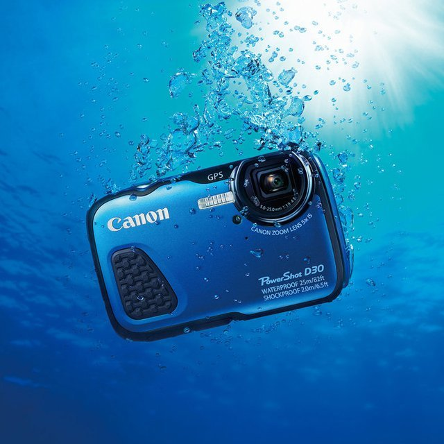 Canon Powershot D30 Underwater Digital Camera