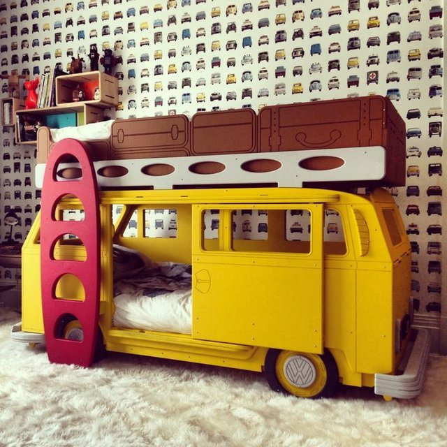 Camper Van Bunk Bed
