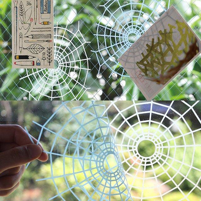Kumonosu Adhesive Spiderweb
