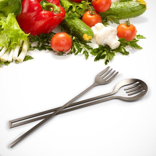 Inset Salad Servers
