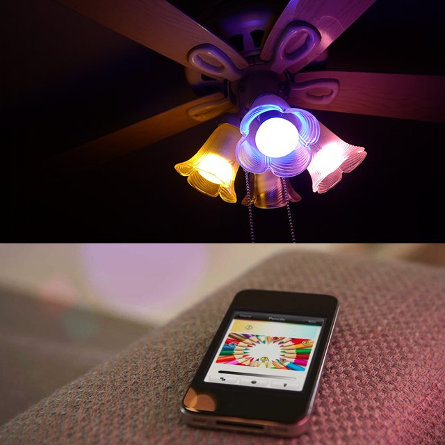 Philips Hue iOS Controlled Light Bulb