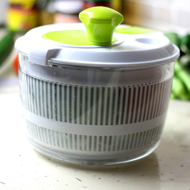Mini Crank Handle Salad Spinner