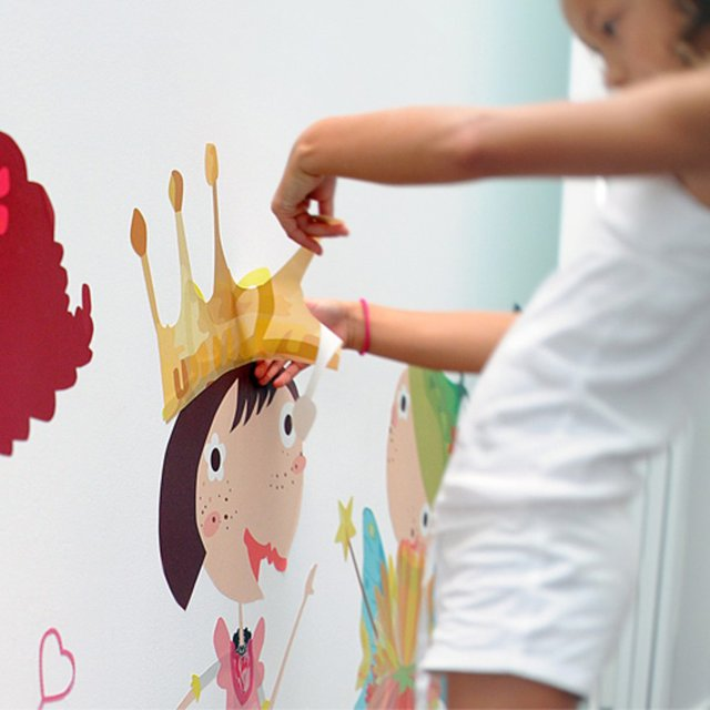 Dress Me Up Wall Decals by Pop & Lolli